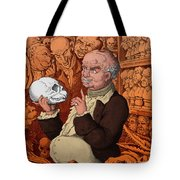 Franz Josef Gall, German Physiognomist Tote Bag