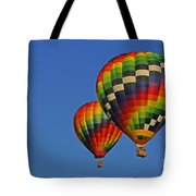 Fraternal Twin Balloons Tote Bag