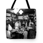 Fred Grovers Grocery Store Tote Bag by Photo Researchers