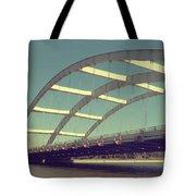 Freddie Sue Bridge Tote Bag by Kristen Cavanaugh