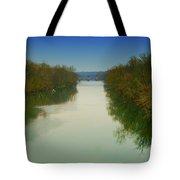 Fredericksburg Virginia River Tote Bag