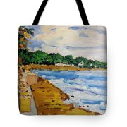 Frederiksted By The Pier Tote Bag