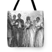 Freedmen: Wedding, 1866 Tote Bag by Granger