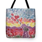 Freedom Girl     Tote Bag