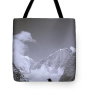 Freedom In The Himalayas In Nepal Tote Bag