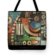 Freedom Jazz Dance Poster Tote Bag