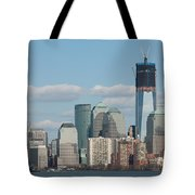 Freedom Tower And Manhattan Skyline II Tote Bag