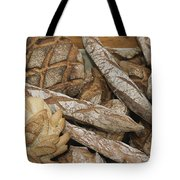 French Breads At A Bazaar In Provence Tote Bag