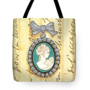 French Cameo 1 Tote Bag by Debbie DeWitt