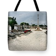 French Cemetery  Tote Bag