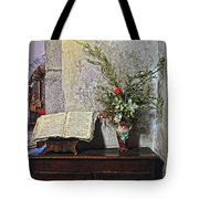 French Church Decorations Tote Bag
