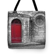 French Church Exterior Tote Bag