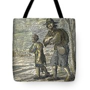 French Class Cartoon, 1657 Tote Bag
