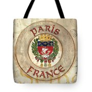 French Coat Of Arms Tote Bag