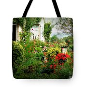 French Cottage Garden Tote Bag