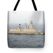 French Destroyer Fs Forbin Tote Bag
