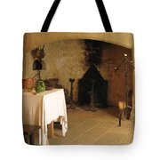 French Kitchen In Castelnaud Tote Bag