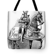 French Knight, 16th Century Tote Bag