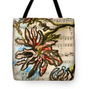 French Magnolia Minuet Tote Bag