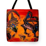 French Music Tote Bag