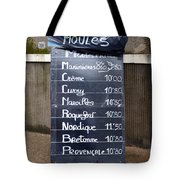 French Mussels Tote Bag