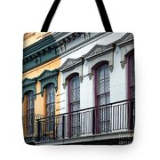 French Quarter Balconies Tote Bag