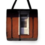 French Quarter Door And Shadows New Orleans Tote Bag