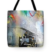 French Quarter In New Orleans Bis Tote Bag