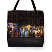 French Quarter Shopping At Night Tote Bag