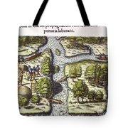 French: Sth. Carolina, 1562 Tote Bag
