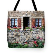 French Stone House Tote Bag