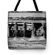 Freret Street Mailboxes - Black And White -nola Tote Bag