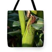 Fresh Corn On The Cob Tote Bag
