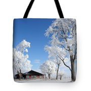 Fresh Frost Tote Bag