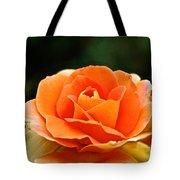 Fresh Peach Petals Tote Bag