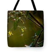 Freshly Showered Blossoms Tote Bag