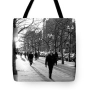 Friday In The City Tote Bag