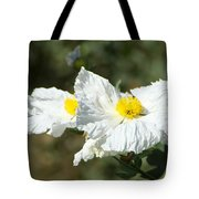 Fried Egg Flowers Tote Bag