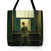 Friedrich Woman 1822 Tote Bag