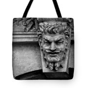 Friendly Face Tote Bag