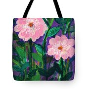 Friendship In Flowers Tote Bag
