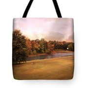 Friendship Pond Tote Bag