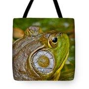 Frog Eye Tote Bag