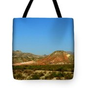 From A Distance Tote Bag by Judy Hall-Folde
