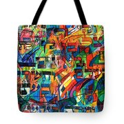 from Sefer Yetzira the letter Lamed Tote Bag