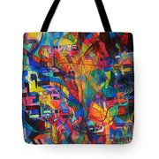 from Sefer Yetzirah the letter Yud Tote Bag