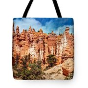 From The Bottom Up - 11x14 Tote Bag