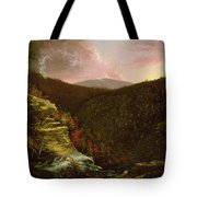 From The Top Of Kaaterskill Falls Tote Bag by Thomas Cole