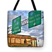From Usa To Can Tote Bag