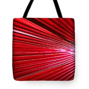 Frond Of Red Tote Bag